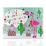 Accentra Beauty Adventskalender Flamingo - Weihnachtskalender für Frauen und Mädchen Kosmetik...