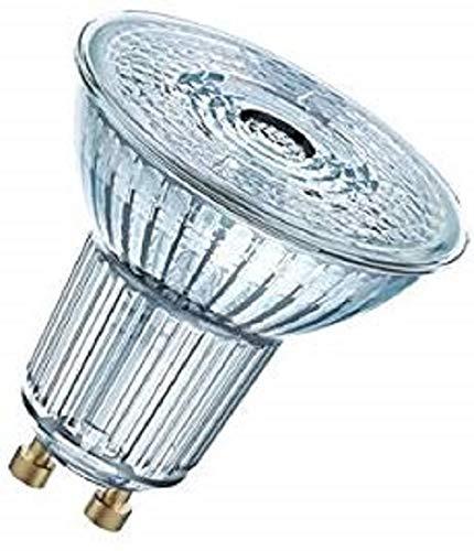 Osram LED SuperStar PAR16 reflectorlamp, met GU10-fitting, dimbaar, vervangt 50 watt, 36° stralingshoek, koudwit - 4000 Kelvin, per stuk verpakt