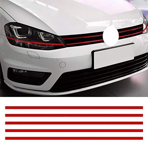 Auto Streifen Aufkleber Kühlergrill Aufkleber Für Golf 6 7 Tiguan Reflektierende Aufkleber Auto Dekoration Auto Styling