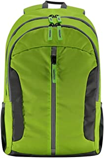 Rjj Outdoor Mountaineering Bag Waterproof Multi-Function Sports Backpack Large Capacity Computer Bag Travel Backpack Exquisite (Color : Green)