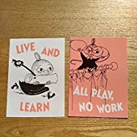 ポストカード2枚セット ムーミン MOOMIN リトルミイ リトルミィ