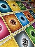 Pokémon 100 tarjetas de energía básicas – cada tipo de energía – 5 a 20 unidades por tipo de energía + 1 cargador Heartforcards®