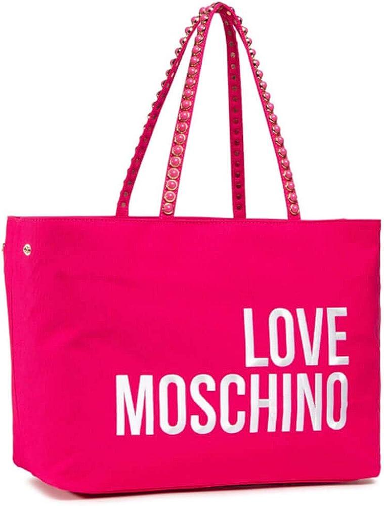 Love moschino ,borsa a spalla per donna,in tessuto sintetico JC4078PP1CLC0604U