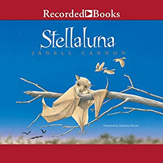 Stellaluna audiobook cover art