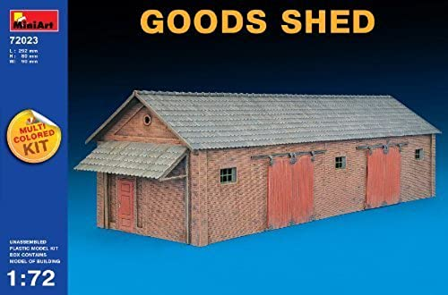 Miniart Kids Hobby Military Toy Goods Shed Scale  1 72 by MiniArt