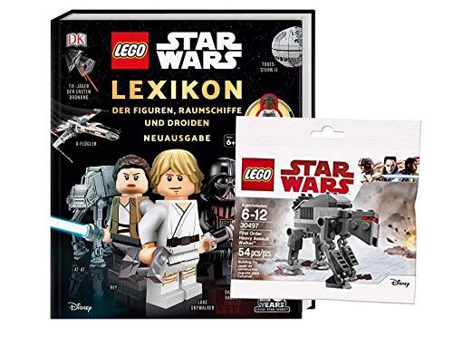 Buchspielbox Lego Star War: Lexikon der Figuren, Raumschiffe und Droiden + 1. Lego Star Wars Beutel (sortierte Auswahl)