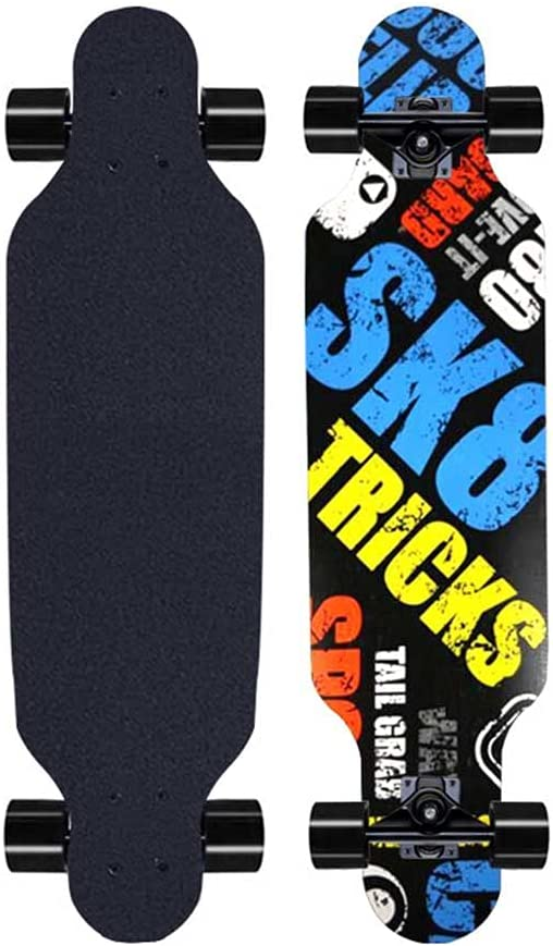 BOUTIQUE GIFT Large discharge sale Boys and Girls Skateboard Dancing B Road Brand new Longboard