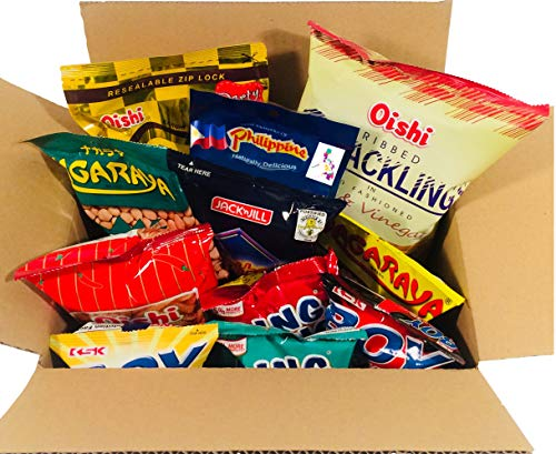 World Food Mission Classic Filipino Snacks Box (Variety 2, 9 pieces)