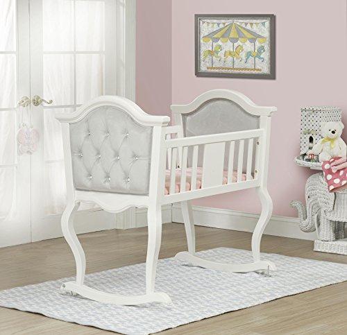 Imagen del producto de la cuna Lola blanca francesa de Orbelle