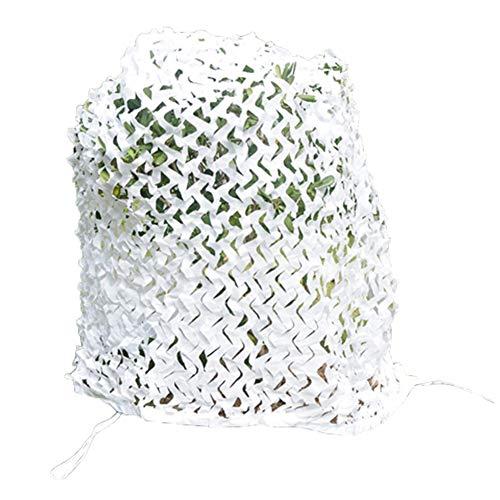 Filet D'ombrage Ombrage La Fenêtre Crème Solaire Anti-UV Intérieur Décoration, 23 Tailles (Couleur : Blanc, taille : 4x7m)