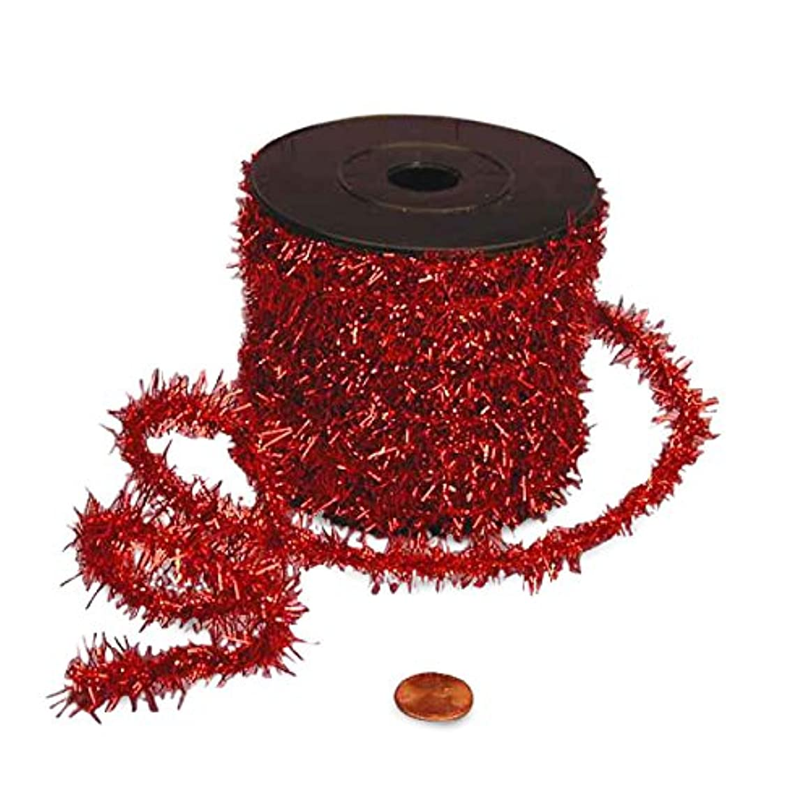 Red Tinsel Wire, 1/2