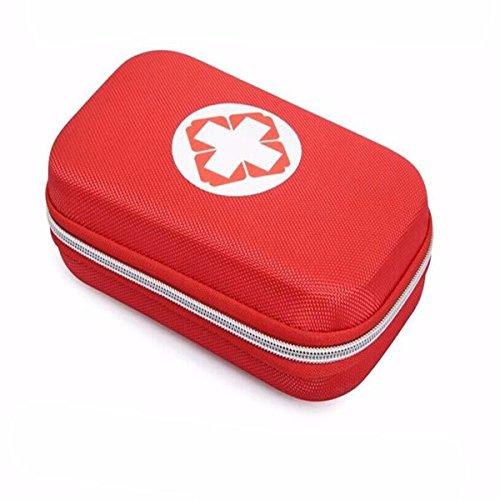 Kit de premier secours-CAMTOA Trousses de premier secours,Trousse de premiers soins avec 18pcs outil-Sac de survie d'urgence, Designer pour la voiture, la maison, Camping, Chasse, Voyage, Plein air ou Sports, Petit et compact