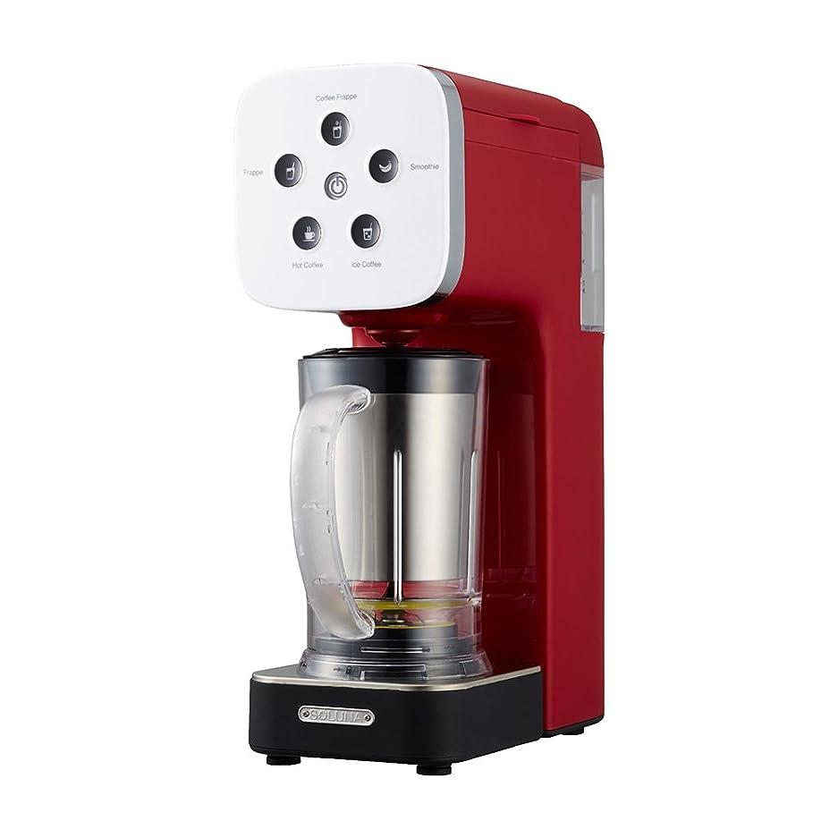 ブロッサム口述大使ドウシシャ コーヒーメーカー クワトロチョイス ミキサー機能搭載 レッド QCR-85A RD