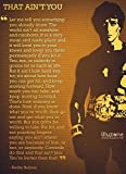 "Rocky Balboa (Quotes 12) Get Motivated Poster 16 x 25 "" Print Sticker Retro Unframed Wall Art Gifts 40x63cm"