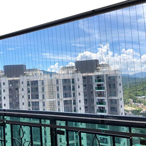 Store en bambou Outdoor Balkon Fenster Clear Rollos, PVC Plastic Partition Screen Rollos zum Restaurant Hotel Büro Niesschutz (Size : 100×160cm(39.4 in×63 in))