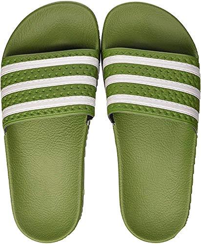 adidas Herren Adilette Aqua Schuhe, Mehrfarbig (Tech Olive/FTWR White/Tech Olive Ee6183), 39 EU