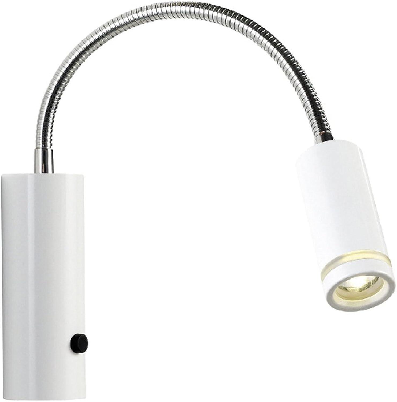 Nordlux Wandleuchte Glitch 3W LED weiss 75511001