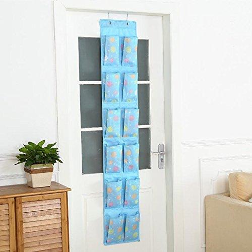 Sacs de rangement Xuan - Worth Another Suspendue sur la Porte du Sac Derrière Le Sac de Porte Mural Sac fourre-Tout (Couleur : C)