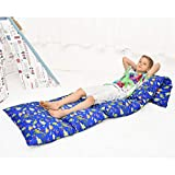 Ohnanana Kids Floor Pillows Bed Cover, Soft Fleece,Perfect for Sleepovers Party,Lounger, Seating,Nap Mat,Reading Nook,Playing,Chair.Cover Only (Blue Dino)