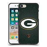 Head Case Designs Licenza Ufficiale NFL Calcio Green bay Packers Logo Cover Nera in Morbido Gel Compatibile con Apple iPhone 7 / iPhone 8 / iPhone SE 2020