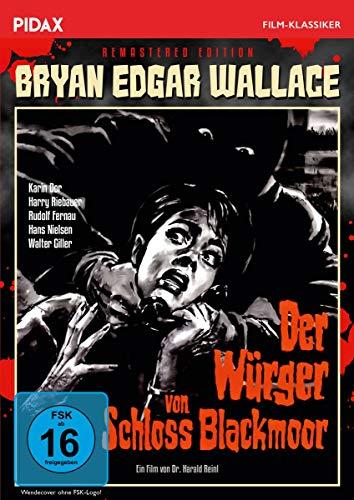 Bryan Edgar Wallace: Der Würger von Schloss Blackmoor - Remastered Edition / Spannender Gruselkrimi mit Starbesetzung + Bonusmaterial, inkl. Hörspielfassung (Pidax Film-Klassiker)