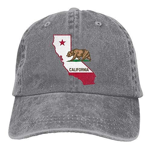 ONGH California Fag Map Unisex Gorras de béisbol Ajustables
