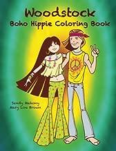 Woodstock Boho Hippie Coloring Book