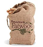 Plow & Hearth 1932 Fatwood Fire Starter, 12 lb. Bag, Brown, 12