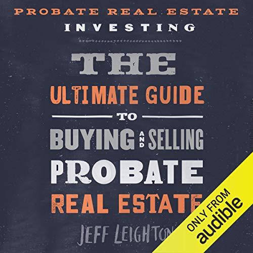 Probate Real Estate Investing audiobook cover art
