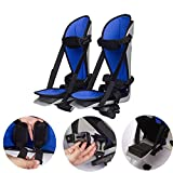 JFGUOYA Foot Splints for Motorized Exercise Cycles/for The Handicap & Disabled, Leg Support for Electronic Physical Therapy and Rehab Bike Pedal Motorized Trainer, 1 Pair