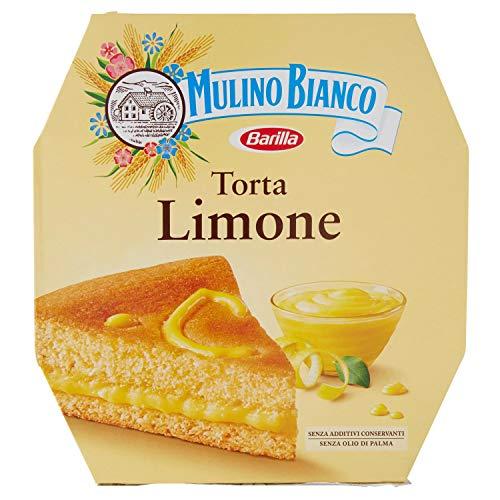 Mulino Bianco Torta Pronta da Gustare con Crema al Limone, 640 g