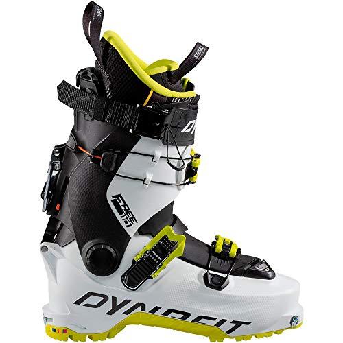 Dynafit Hoji Free 110 Alpine Touring Ski Boot White/Lime Punch, 31.0