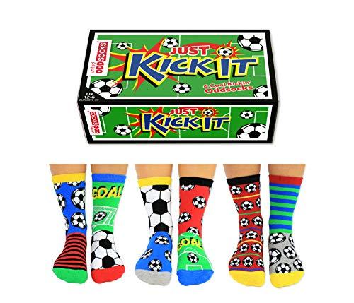 United Oddsocks Jungen Socken Mehrfarbig mehrfarbig, UK 12-6 EUR301/2-39, US 12.5-7