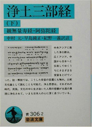浄土三部経〈下〉観無量寿経・阿弥陀経 (岩波文庫)