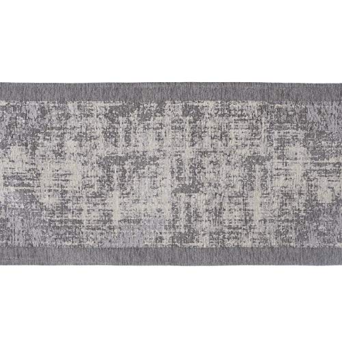 Blanc Mariclò Tapis d'ameublement 65 x 150 cm Gris, collection Vita