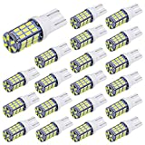 Aucan 20pcs Super Bright RV Trailer T10 921 194 42-SMD 12V Car...