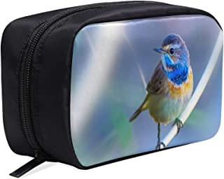 Beautiful And Lovely Little Birds Portable Travel Makeup Cosmetic Bags Organizer Multifunction Case Small Toiletry Bags For Women And Men Brushes Case