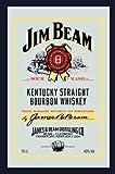 empireposter Jim Beam Whiskey - Bedruckter Spiegel mit