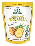 Natierra Nature's Organic Freeze-Dried Pineapples | Gluten Free & Vegan | 1.5 Ounce