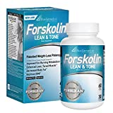 BioGenetic Labs Forskolin Lean & Tone - Weight Loss Pills - Body Toning Formula Fat Burner and Maintenance of Muscle Mass For Men and Women Appetite Suppressant - 60 Capsules - Vegetarian
