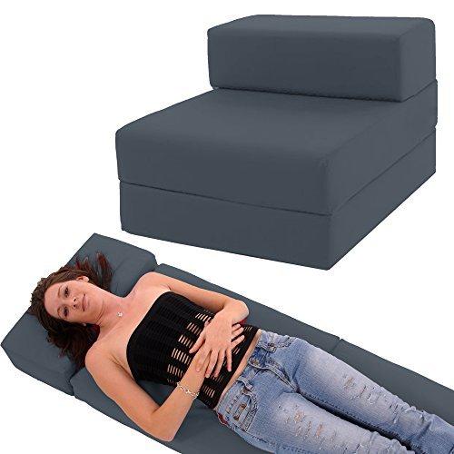 Gilda   Futon Z Chair bed (Standard Cushion) Outland - Single Clean Coated...