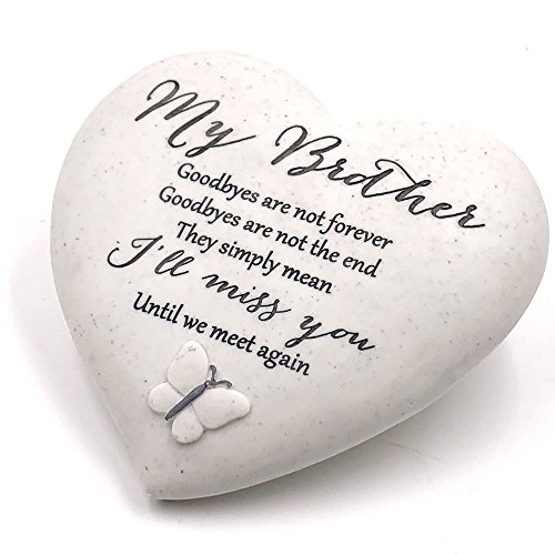 Graveside Memorial My Brother Remembrance Heart Ornament