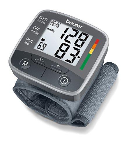 Beurer Bc 32 Misuratore Di Pressione Da Polso Con 120 Posizioni Di Memoria E Rilevazione Aritmie