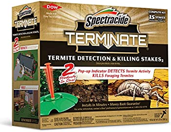 15-Count Spectracide Termite Killing Stakes with Detection Kit