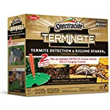 Spectracide 96115 Terminate Termite Detection and Killing Stakes 15 Count, W, Pack of 1