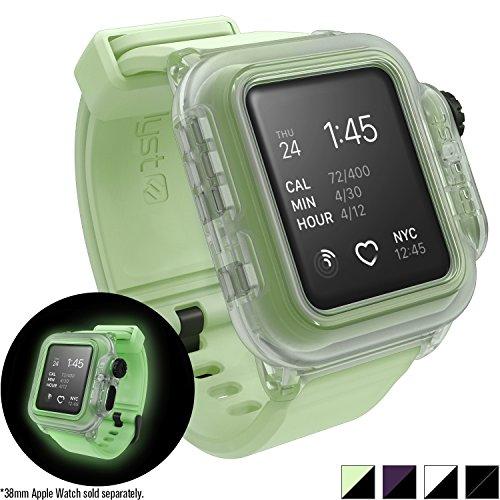 Catalyst Custodia impermeabile antiurtoper Apple Watch 38 mm Serie 2 (Luminoso al buio - Fosforescente)