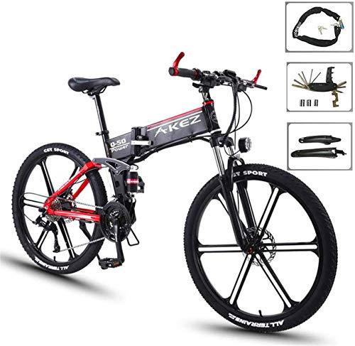 """Bicicletas Eléctricas, 26"""" bicicleta eléctrica de 36V 350W Motor - Ebikes Bicicleta con 27 Reductor con pedaleo asistido Suspensión batería de litio del disco del freno hidráulico prima completa ,Bici"""