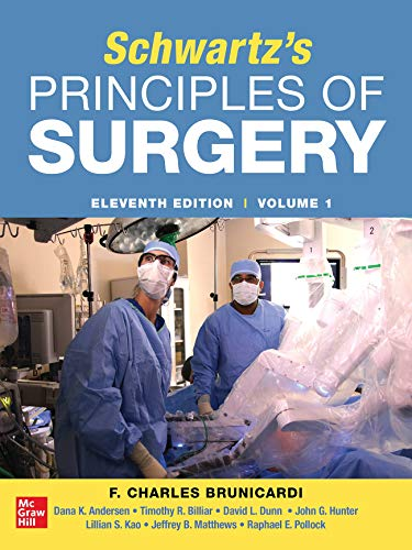 SCHWARTZ'S PRINCIPLES OF SURGERY 2-volume set