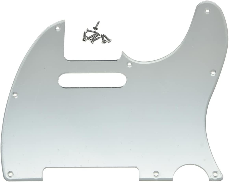 KAISH Alternative dealer 8 Hole Tele Guitar Pickguard USA fits Mexica trust Plate Scratch