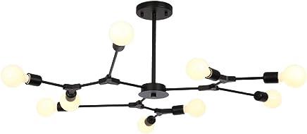 Techo Amazon Lámparas MSzVGLqUp Araña Iluminación esNordico De A54Ljq3R
